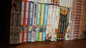 VARIOUS MANGA SINGLE VOLUMES AVAILABLE.ALL BRAND NEW.$5/VOLUME