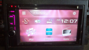 Kenwood Car Audio DVD Touch-Screen Bluetooth Double-Din