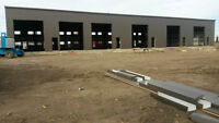 NEW INDUSTRIAL BAY (2000-16000 SQFT) WITH LOTS OF STORAGE