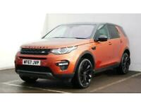 2017 Land Rover Discovery 2.0 TD4 180 HSE Black 5dr Auto SUV diesel Automatic