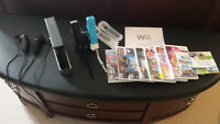 Nintendo Wii including 9 games! Great price