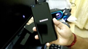"""SUPER MINT-256GB Samsung Galaxy S8 PLUS """"BLACK"""" +Accessories"""