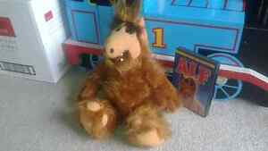1986 Alf TV show doll and season 1 on dvd