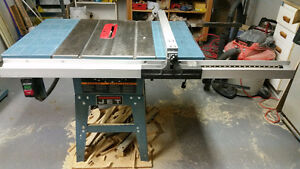 "JET 10"" TABLE SAW...GREAT CONDITION, 220V, 1 1/2HP motor"