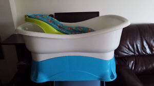 Infant Right Height Bath Center Tub