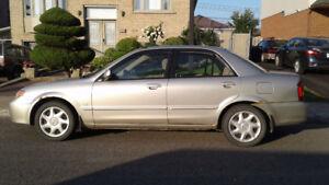 2002 Mazda 323 protege Sedan