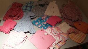 Lot de vêtements d'été pour fille, 2T