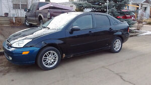 2002 Ford Focus 4 Dr 190 KMS