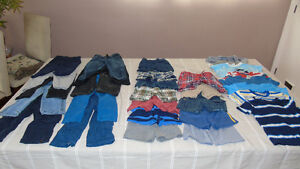 Baby boys cloths huge lot size 18 M and 18-24 Months