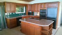 Complete kitchen with Granite countertops, dishwasher, sink, etc