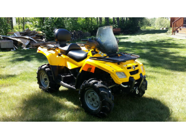 Used 2006 Can-Am Outlander 800 XT 2 UP