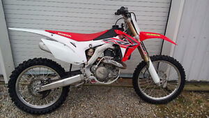 2016 CRF450 low hours