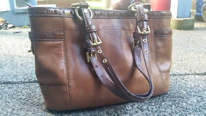 Coach Purse in a Lovely Medium Brown