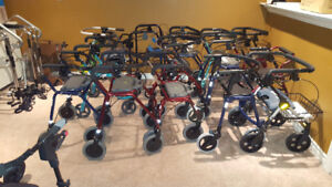 Light Weight Folding Rollator Walkers for sale