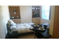 Luxurious double room/studio with private Kitchenette - Bills included