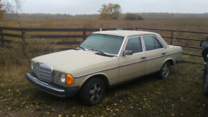 1983 mercedes 300d turbodiesel
