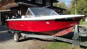 14' Fishing Boat with Mercury 50HP