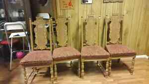 Set of dinning room chairs