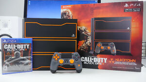 PS4 BLACK OPS 3 EDITION 1TO FINITIE WARFARE RISE OF IRON +40jeux