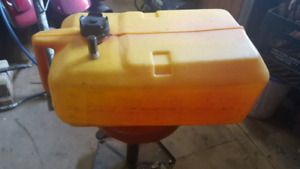 boat gas tank with johnson adapter