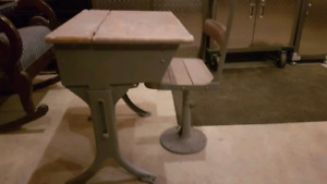 Desk - refinished with chalk