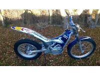 2005 scorpa sy 250 trials bike