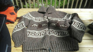 Classic Cowichan style sweater