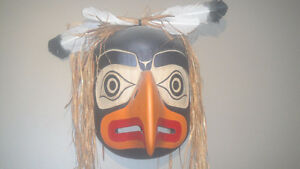 Northwest Coast Eagle Mask by Ed McDougall from Alert Bay Vancouver Greater Vancouver Area image 2