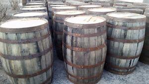 Baril Whisky décoratif en chêne  / Tonneau bois / Livraison disp
