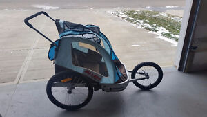 Allen Sports Two child trailer - joggers/ trailers