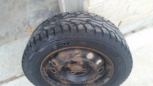 winter tires with rims London Ontario image 4