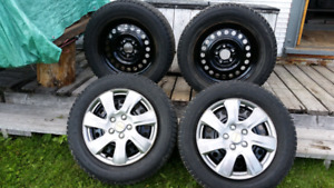 Studded Winter Tires w/ hubcaps