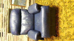 Blue Lift Chair Recliner