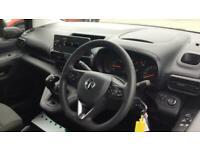 2019 Vauxhall Combo 1.5 L1H1 2000 SPORTIVE S/S PANEL VAN DIESEL Manual