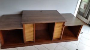 Custom Hand-Built Entertainment Unit