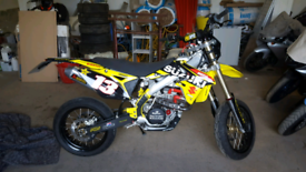 rmz 450 super moto/ motocross