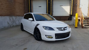 2009 Mazda Mazdaspeed 3 Low KM, all bolt ons ~300hp