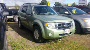 2008 Ford escape. Xlt 4x4 auto loaded nice clean 4x4