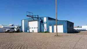 3000 square foot shop plus two offices located in Taber
