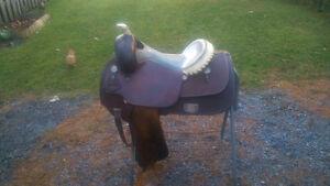 Selle de reining Saddle Smith