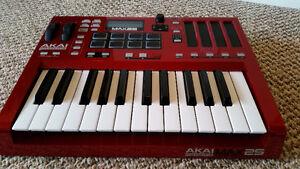 Akai Professional MAX25 25-Key USB MIDI Keyboard Controller