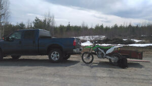 Mint dirt bike looking for pair of sea doos for trade