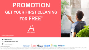 GET YOUR FIRST CLEANING FREE ! AIRBNB, SHORT TERM, LAST MINUTE.