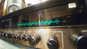 Vintage Sony SQR6650 receiver