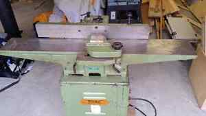 "6"" jointer and 10 "" table saw"
