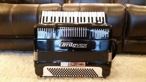 EXXELSIOR MODEL A210 CORDOVOX ACCORDION - USE W. ANY AMP.,