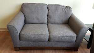ASHLEY JANLEY SOFA AND LOVE SEAT