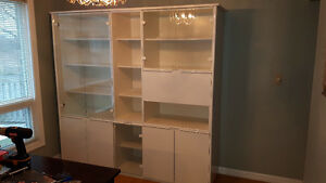 Large Display Cabinet/ Hutch
