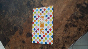 Gymboree  $30 gift card