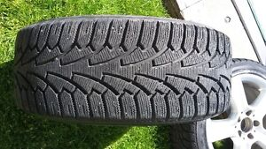 Mercedes Benz genuine rims and winter tires for sale. London Ontario image 2
